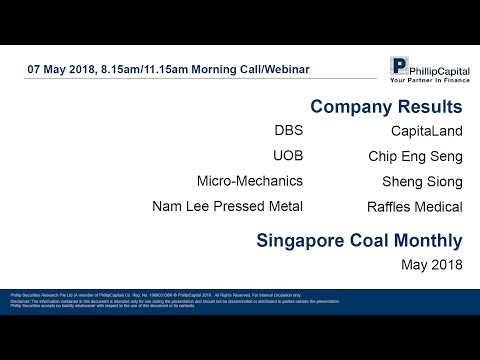 Market Outlook - Singapore Companies Earnings & Coal Sector Update