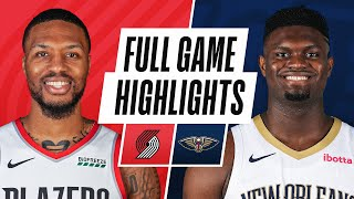 Download TRAIL BLAZERS at PELICANS | FULL GAME HIGHLIGHTS | February 17, 2021
