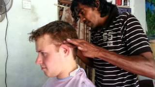 Haircut in Sri Lanka