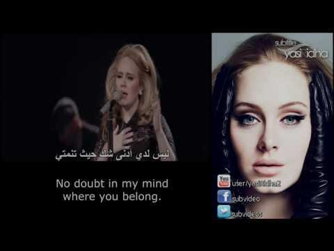 Adele - Make You Feel My Love مترجمة