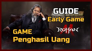 Guide Early Game! Rohan M Build Stat Equip Skill Trading & Pet