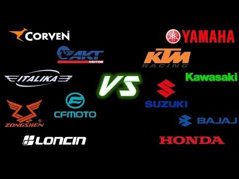 "Moto CHINA vs Moto ""de MARCA"""
