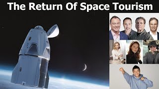 Space Tourism Reborn : Twelve People Will Fly To Space In The Next 12 Months!