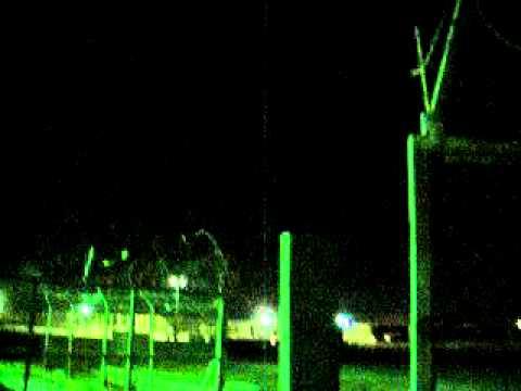 C-RAM Firing in Camp Basrah, Iraq 2010