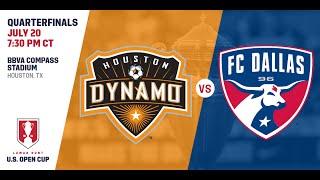2016 Lamar Hunt U.S. Open Cup - Quarterfinal: Houston Dynamo vs. FC Dallas