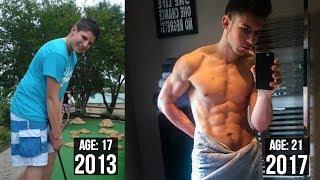 Gambar cover Josh Sullivan 4 Year Natural Body Transformation (17-21)