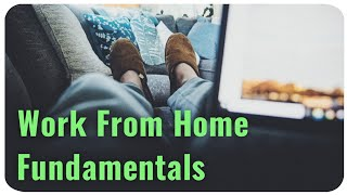 3 (Forgotten) Fundamentals   Working From Home Healthy Dynamics♻️👍
