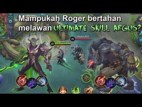Argus vs Roger - Mampukah Roger Mengalahkan Ultimate Skill Argus?