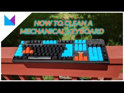 How to Clean Your Mechanical Keyboard - Tech Tip Tuesday