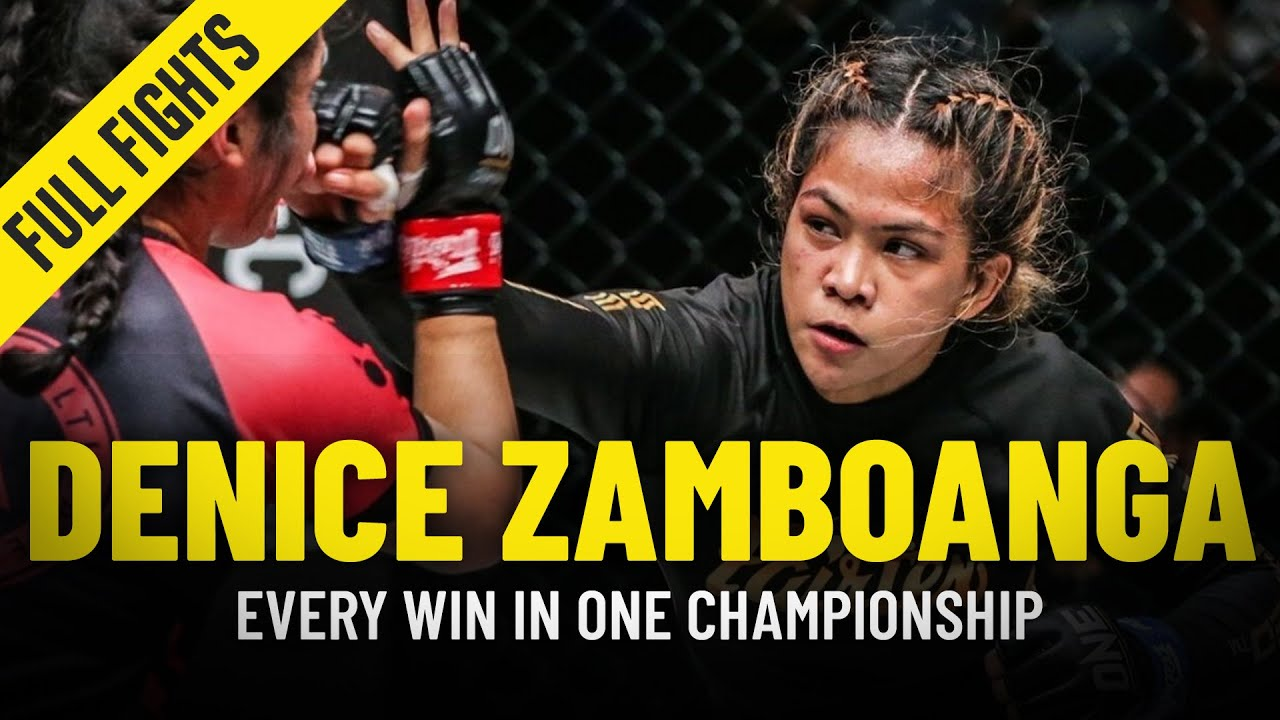 Every Denice Zamboanga Win In ONE Championship