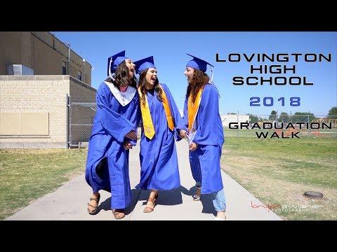 Lovington High School - 2018 Graduation Walk