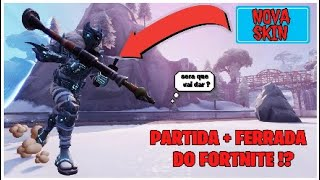 Fortnite * I BOUGHT the NEW SKIN FROM ((PE-DE-NEVE)) * and we PLAY the START + SCREWED OF FORTNITE!?