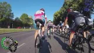 Velothon Berlin 2017 - 180km - Vom Start durch Berlin
