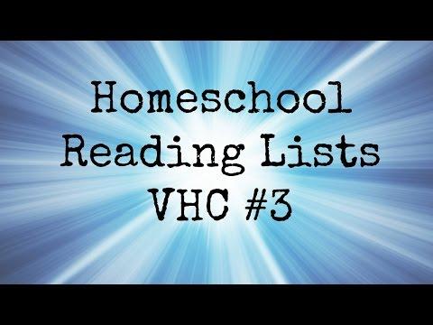 Homeschool Reading Lists |VHC #3