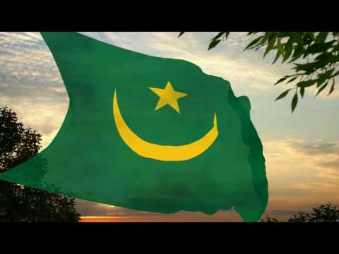 Flag and anthem of Mauritania (1959-2017)