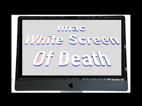 How to fix white screen of death, imac, 2011, i7 3.4ghz, amd radeon hd6970m