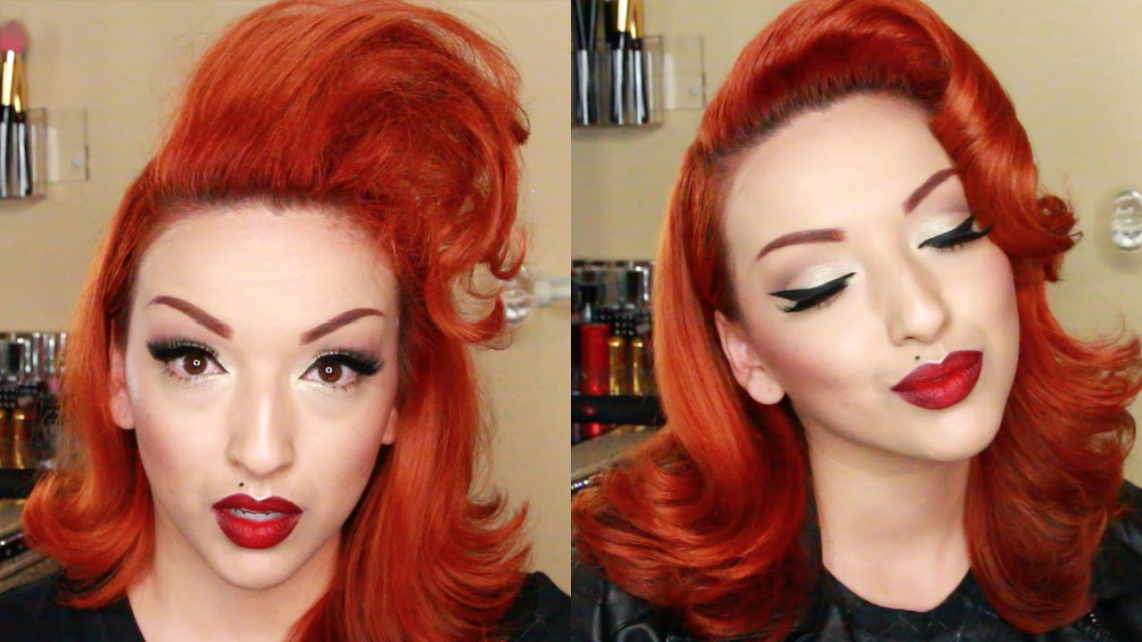 Vintage Hair Styles For Short Hair: Modern Vintage Hair Tutorial