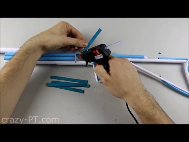 Cara Membuat Gun (Senjata ) Dari Kertas