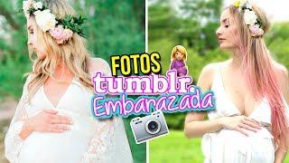 IMITANDO FOTOS TUMBLR de MAMÁ EMBARAZADA!🤰💕 |  KATIE ANGEL