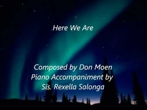 Here We Are by Don Moen Piano