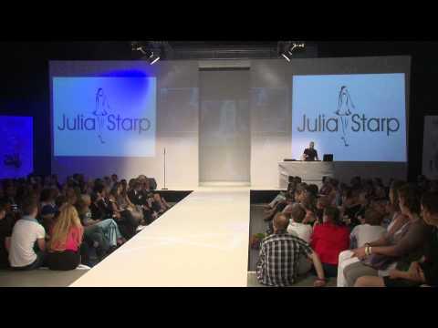 Julia Starp auf der ECO-Fashion-Week Berlin