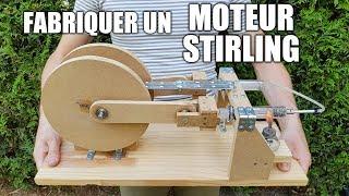 Fabriquer un moteur Stirling - Moteur thermique à air