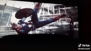 Capton Vs Capton Fight In Avengers End Game