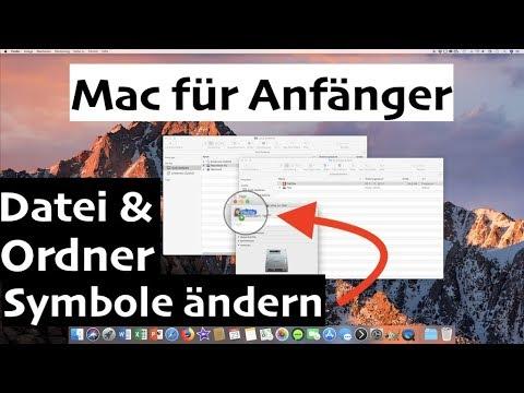 Mac Icons ändern
