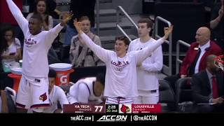 Virginia Tech vs Louisville College Basketball Condensed Game 2018