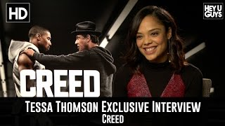 Tessa Thompson Exclusive Interview - Creed
