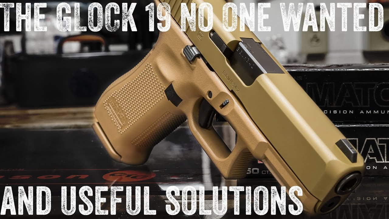 Glock 19x not what you wanted? There are options!