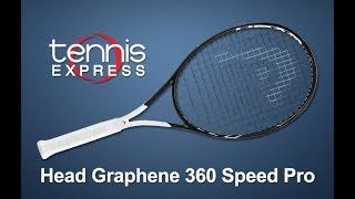 HEAD Graphene 360 Speed Pro Tennis Racquet Review | Tennis Express