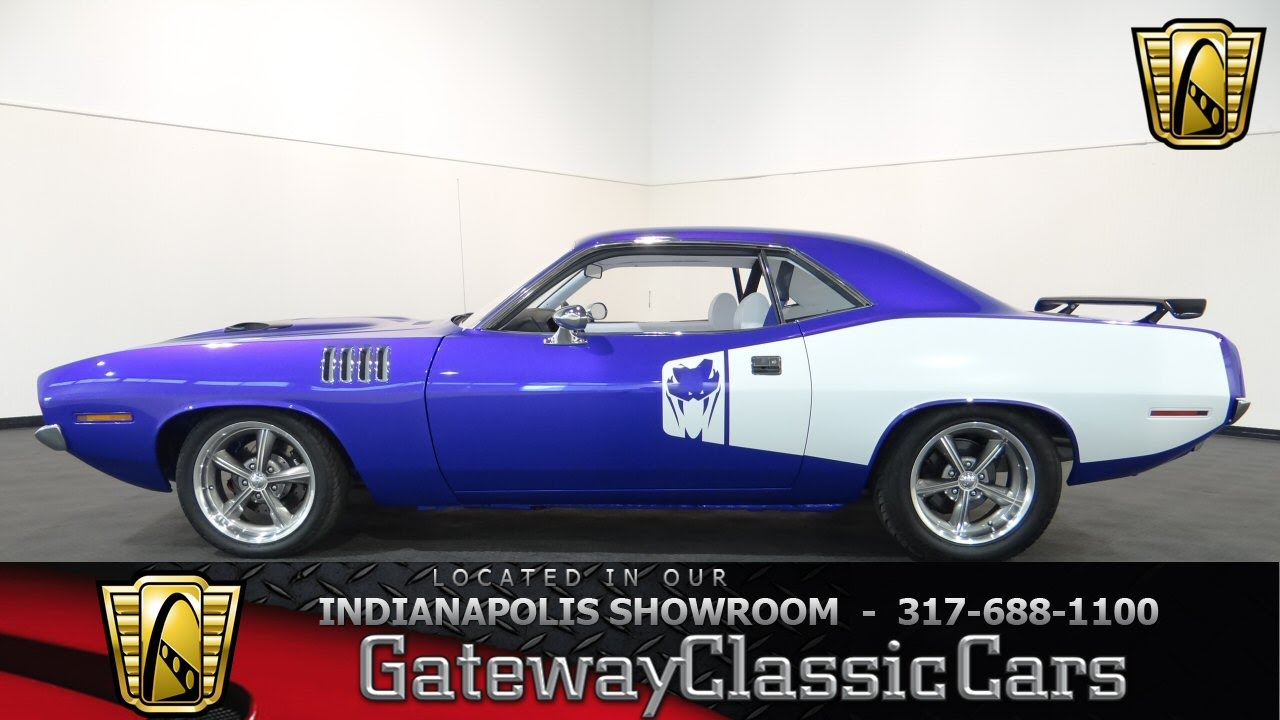 1973 Plymouth Barracuda Restomod - Gateway Classic Cars ...