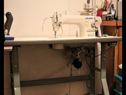 Juki DDL 8700 Table, Motor & Sewing Machine Assembly
