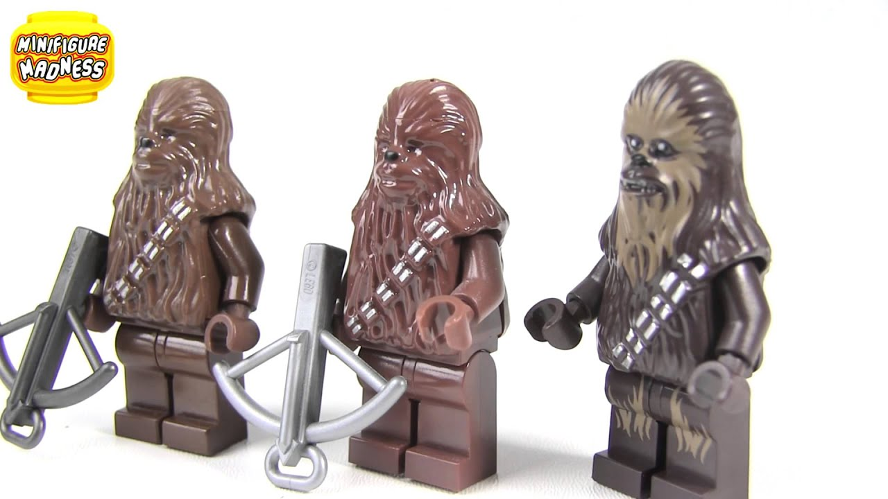 LEGO Star Wars Chewbacca Minifigure Collection - YouTube