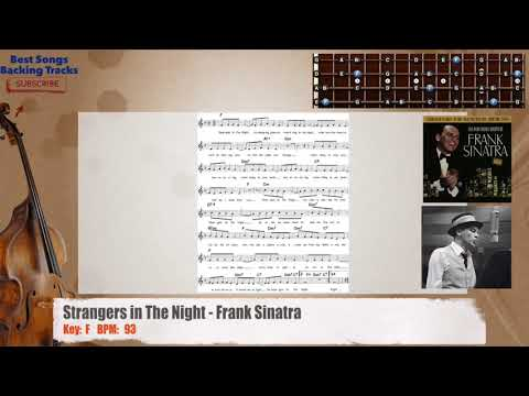 Strangers In The Night Frank Sinatra Bass Backing Track With
