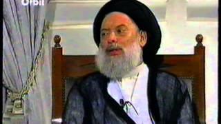 مقابلة نادرة ثلاث ساعات مع سماحة السيد محمد حسين فضل الله(قدس)على قناة أوربيت