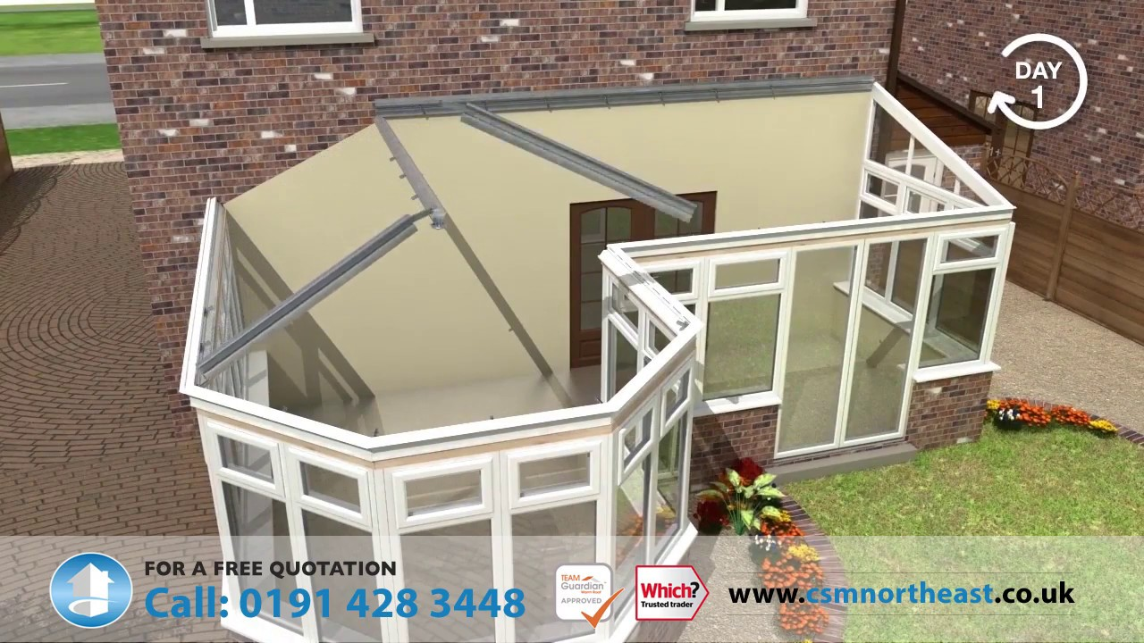 Polycarbonate Roof Replacement - Get Costs Online | CSM