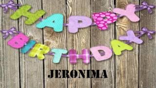Jeronima   Wishes & Mensajes