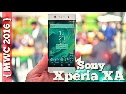 Xperia XA - красивый безрамочный не флагман от Sony - [MWC'16]