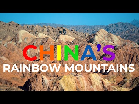 Beautiful national park China - drone footage