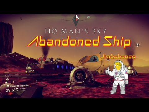 No Man's Sky Abandoned ship and Easy Credits!!