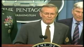 أرشيف- بوش: سنلاحق منفذي هجمات 11 سبتمبر