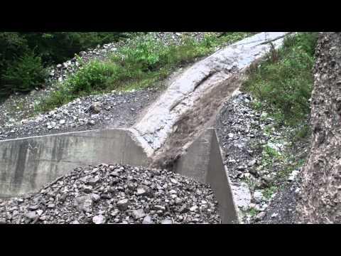 Steinschlag Riemenstalden 25.8.2012