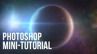 Photoshop Mini-Tutorial - Create a planet