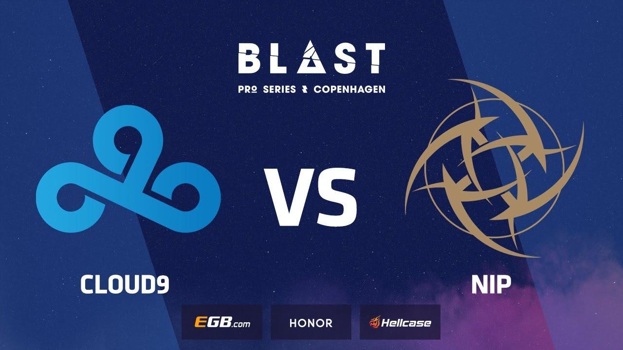 NiP vs Cloud9, mirage, BLAST Pro Series Copenhagen 2018