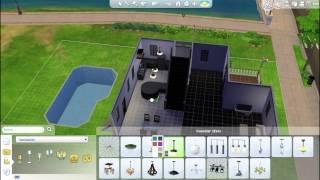 Los Sims 4 | Construyendo casas: Casa de 2 pisos | Modo Construir