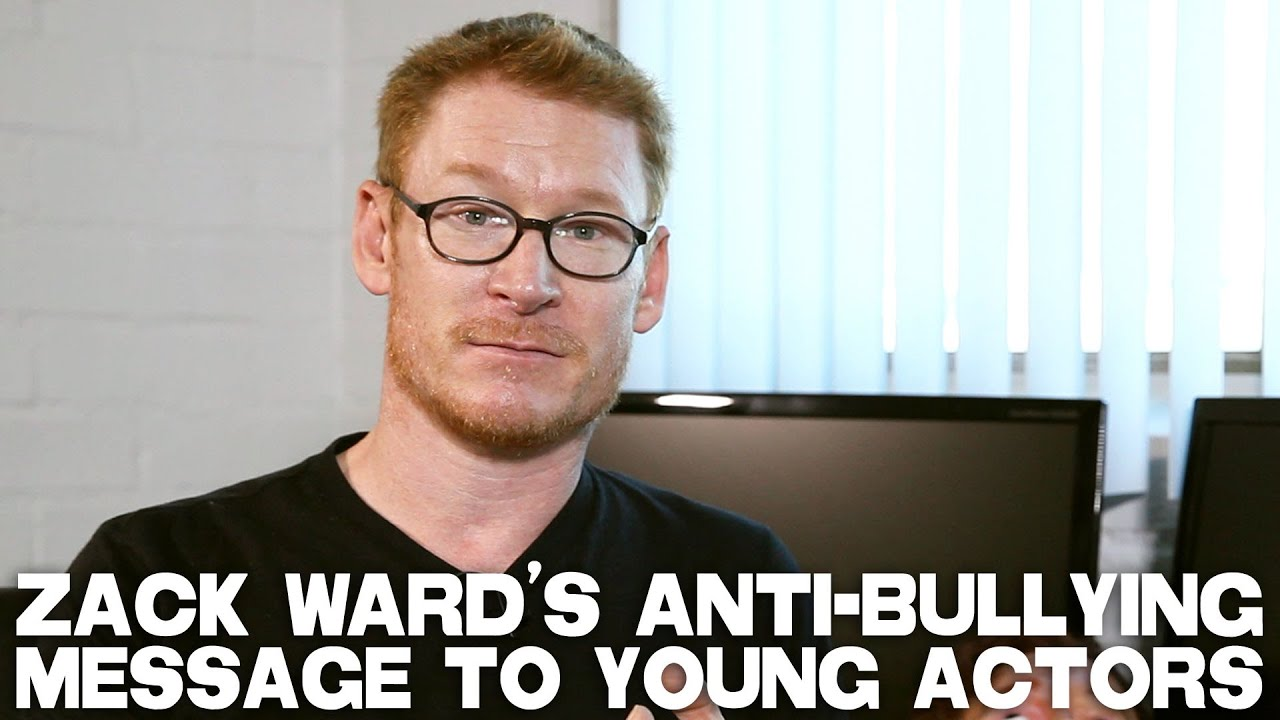 An Anti-Bullying Message To Young Actors by Zack Ward - YouTube