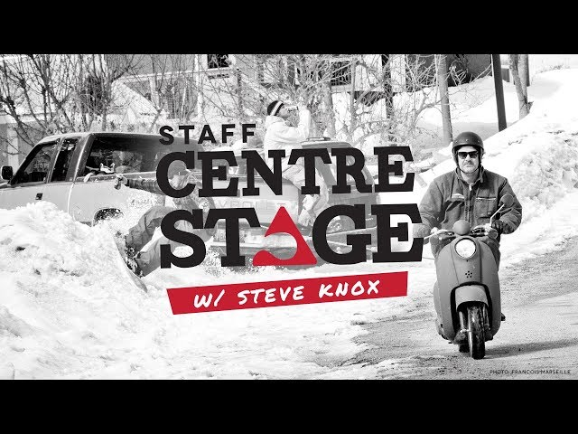 Staff Centre Stage - Steve Knox
