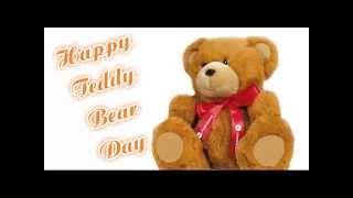 Happy Teddy Bear Day 2015